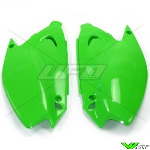 UFO Zijnummerplaten Groen - Kawasaki KX125 KX250