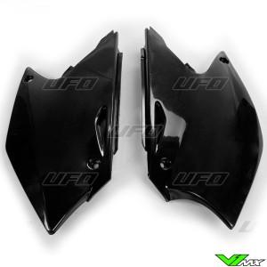 UFO Zijnummerplaten Zwart - Kawasaki KXF250