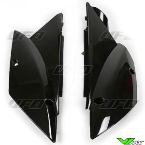 UFO Zijnummerplaten Zwart - Kawasaki KLX110