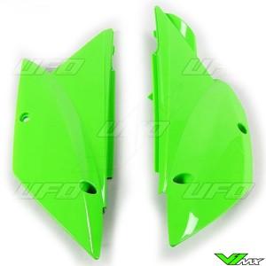 UFO Zijnummerplaten Groen - Kawasaki KLX110