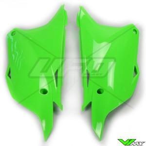 UFO Zijnummerplaten Groen - Kawasaki KX85