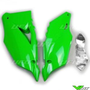 UFO Zijnummerplaten Groen - Kawasaki KXF450
