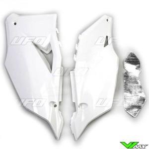 UFO Zijnummerplaten Wit - Kawasaki KXF450