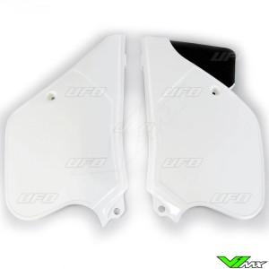 UFO Zijnummerplaten Wit - KTM 125SX 125EXC