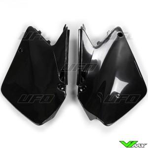 UFO Zijnummerplaten Zwart - Suzuki RM125 RM250