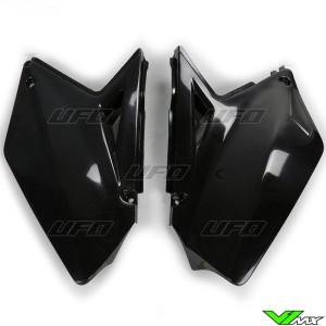 UFO Zijnummerplaten Zwart - Suzuki RMZ250