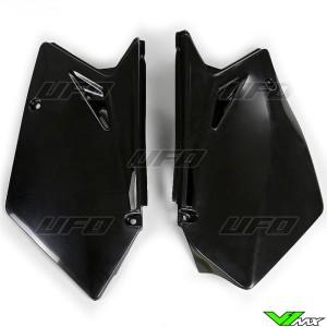 UFO Zijnummerplaten Zwart - Suzuki RMZ450