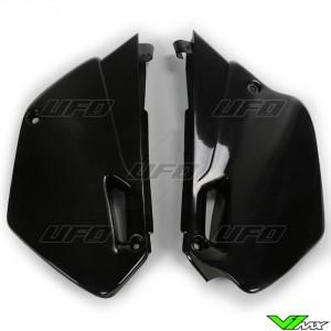 UFO Zijnummerplaten Zwart - Yamaha YZ85