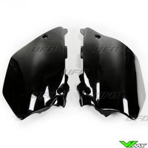 UFO Zijnummerplaten Zwart - Yamaha YZ125 YZ250