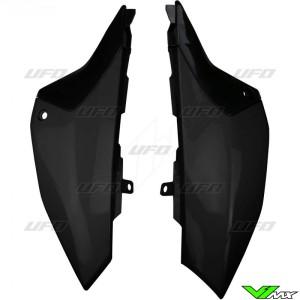UFO Zijnummerplaten Zwart - Yamaha YZ65