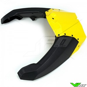 UFO Airbox Cover Yellow - Yamaha YZF250 YZF450 WR250F WR450F