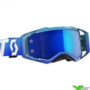 Scott Prospect Crossbril - Blauw / Wit