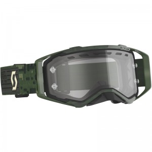 Scott Prospect Enduro bril - Military Camo / Groen
