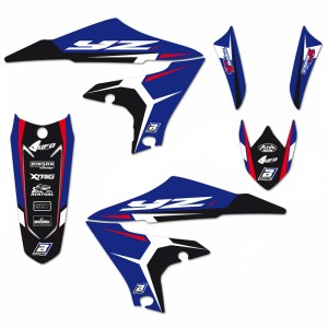Blackbird Dream 4 Stickerset - Yamaha YZF250 YZF450