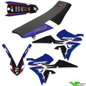 Blackbird Dream 4 Stickerset en zadelovertrek - Yamaha WR250F WR450F