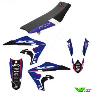 Blackbird Dream 4 Stickerset en zadelovertrek - Yamaha YZF250 YZF450