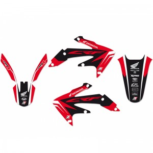 Blackbird Dream 4 Stickerset - Honda CRF450X