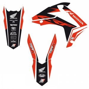 Blackbird Dream 4 Stickerset - Honda CRF250R CRF450R