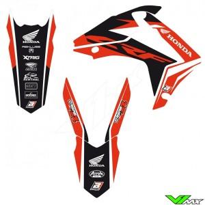 Blackbird Dream 4 Stickerset - Honda CRF250R CRF450R