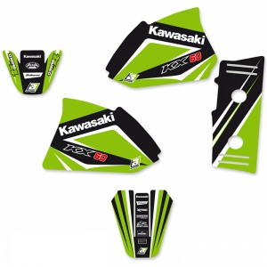 Blackbird Dream 4 Stickerset - Kawasaki KX60