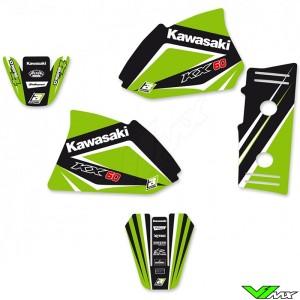 Blackbird Dream 4 Stickerset - Kawasaki KX60