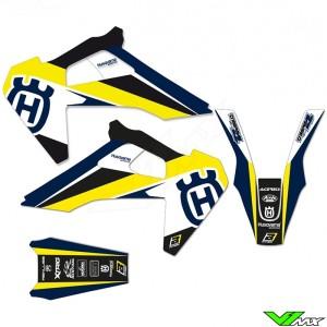 Blackbird Dream 4 Stickerset - Husqvarna FC250 FC350 FC450 TC125 TC250