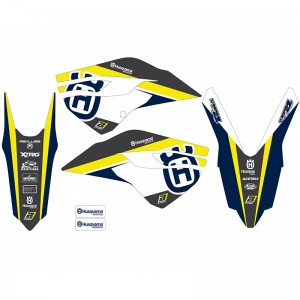 Blackbird Dream 4 Stickerset - Husqvarna FC250 FC350 FC450 FE250 FE350 FE450 FE501 TC125 TC250 TE250 TE300