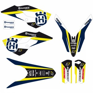 Blackbird Dream 4 Stickerset - Husqvarna TC85