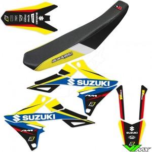 Blackbird Dream 4 Stickerset en zadelovertrek - Suzuki RMZ250 RMZ450