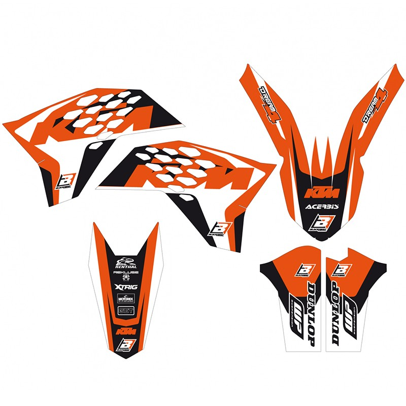 KTM 150SX SWINGARM STICKERS GRAPHIC KIT PART SX 150  dirtbike Decals FIT