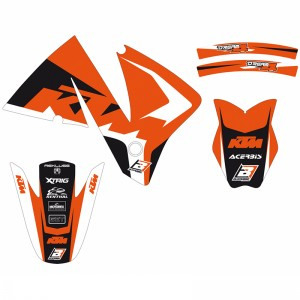 Blackbird Dream 4 Stickerset - KTM 125EXC 200EXC 250EXC 300EXC 380EXC 400EXC 520EXC