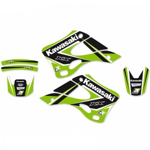 Blackbird Dream 4 Stickerset - Kawasaki KX125 KX250