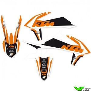 Blackbird Dream 4 Stickerset - KTM 125SX 150SX 250SX 250SX-F 350SX-F 450SX-F