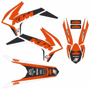 Blackbird Dream 4 Stickerset - KTM