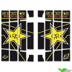 Blackbird Rockstar Radiateur Lamellen Stickers - KTM 125SX 150SX 250SX 250SX-F 350SX-F 450SX-F