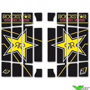 Blackbird Rockstar Radiateur Lamellen Stickers - Husqvarna FC250 FC350 FC450 TC125 TC250