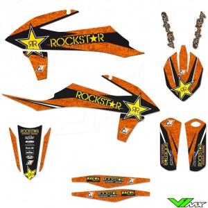 Blackbird Rockstar Stickerset - KTM 125SX 150SX 250SX 250SX-F 350SX-F 450SX-F