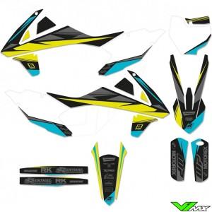 Blackbird Stealth Yellow Stickerset - KTM