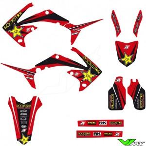 Blackbird Rockstar Stickerset - Honda CRF250R CRF450R