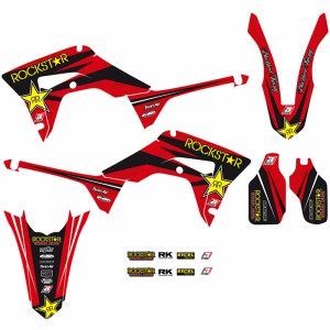 Blackbird Rockstar Stickerset - Honda CRF250R CRF450R CRF450RX