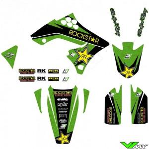 Blackbird Rockstar Stickerset - Kawasaki KXF250