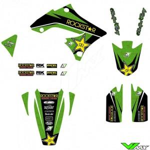 Blackbird Rockstar Stickerset - Kawasaki KXF450