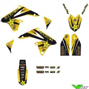 Blackbird Rockstar Stickerset - Suzuki RMZ250