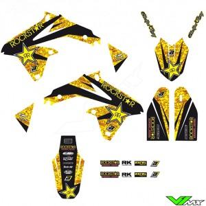 Blackbird Rockstar Stickerset - Suzuki RMZ450