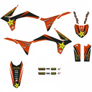 Blackbird Rockstar Stickerset - KTM