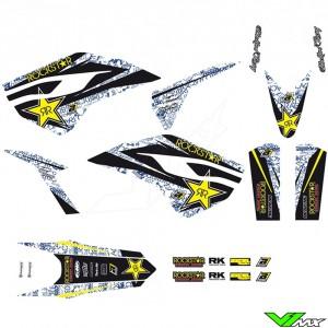 Blackbird Rockstar Stickerset - Husqvarna FC250 FC350 FC450 FE250 FE350 FE450 FE501 TC125 TC250 TE250 TE300