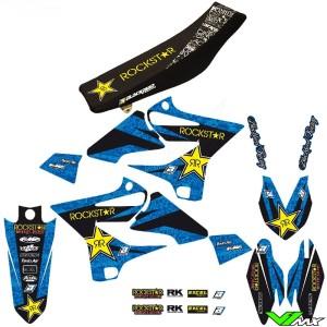 Blackbird Rockstar Stickerset en zadelovertrek - Yamaha YZ125 YZ250 YZ250X WR250