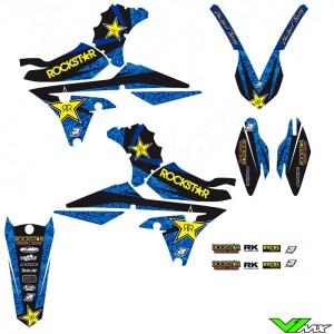 Blackbird Rockstar Stickerset - Yamaha YZF250 YZF450 WR250F WR450F