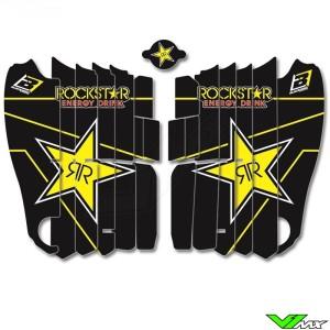 Blackbird Rockstar Radiateur Lamellen Stickers - Yamaha YZF250 YZF450
