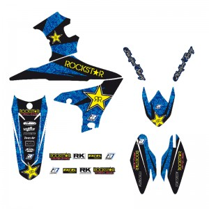 Blackbird Rockstar Stickerset - Yamaha YZF450